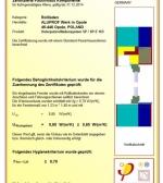 SP-E Zertifikat
